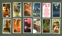 Collctable TRADE cards set E.T. 1983 cards re movie
